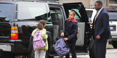 Le vite dei figli dei presidenti a scuola