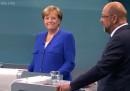 Merkel ha vinto il dibattito contro Schulz
