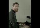 Il video di Lionel Messi che suona l'inno della Champions League