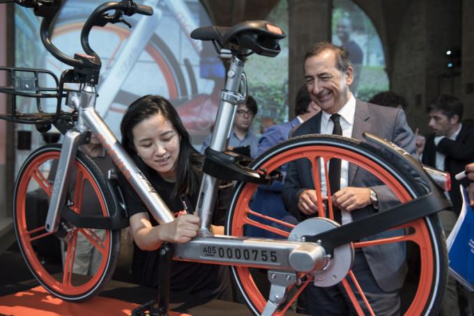 Trasporti: Mobike arriva a Milano, il primo bike-sharing senza rastrelliere