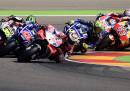 L'ordine d'arrivo del Gran Premio di MotoGP d'Aragona