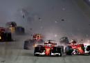 L'ordine d'arrivo del Gran Premio di Singapore di Formula 1