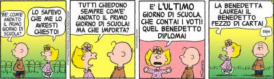 Peanuts 2017 settembre 6