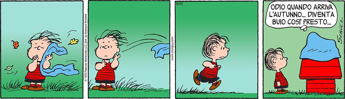 Peanuts 2017 settembre 22