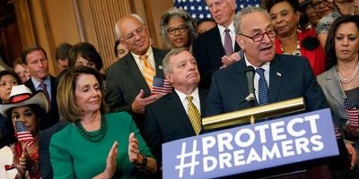 """Trump dice che non c'è un accordo con i Democratici sui """"dreamers"""""""