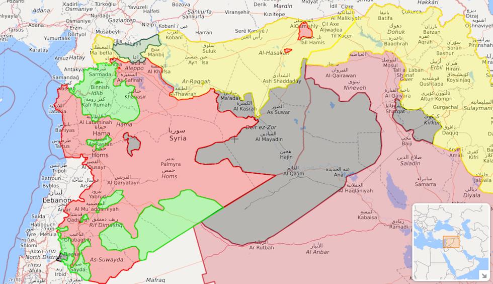 siria-mappa