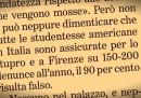 La Stampa ha deciso di ritirare una falsa notizia sugli stupri a Firenze