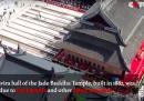 Spostare un tempio buddista si può