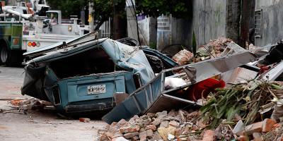 Il forte terremoto al largo del Messico
