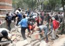 Più di 90 morti per il terremoto in Messico