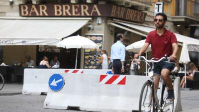 A favore delle bici contromano