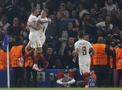 La Roma ha pareggiato 3-3 contro il Chelsea in Champions League