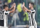 La Juventus ha vinto 2-1 contro lo Sporting Lisbona in Champions League