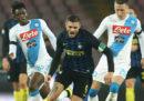 Napoli-Inter in streaming e in diretta tv