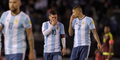 L'Argentina si gioca i Mondiali