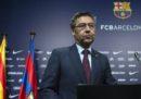 Il presidente del Barcellona ha detto che la squadra continuerà a giocare nella Liga spagnola