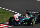 Hamilton ha vinto il Gran Premio del Giappone