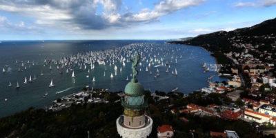 Le foto della Barcolana, la regata più affollata al mondo
