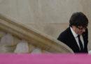 Puigdemont ha dichiarato e poi sospeso l'indipendenza della Catalogna
