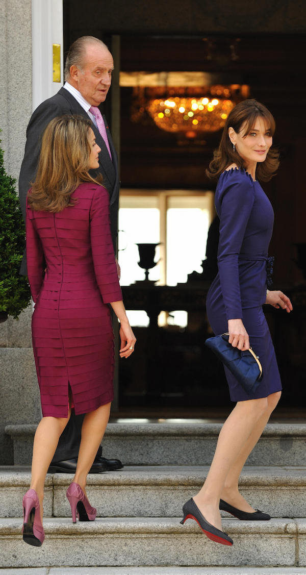 L allora première dame di Francia Carla Bruni e la principessa 79c8b6b1adf