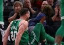 Il bruttissimo infortunio di Gordon Hayward in NBA