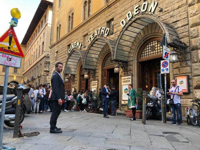 Tim Cook a Firenze: il cinema-teatro Oden