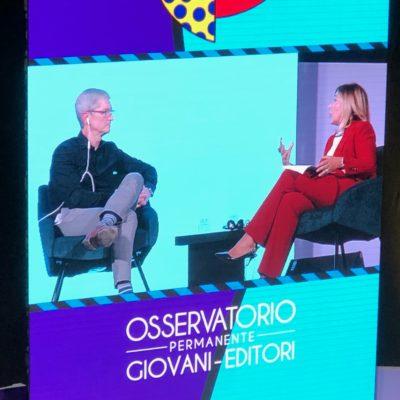 Tim Cook e Maria Latella a Firenze