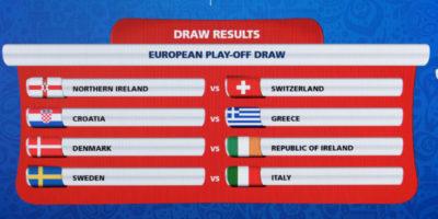 L'Italia incontrerà la Svezia negli spareggi per i Mondiali
