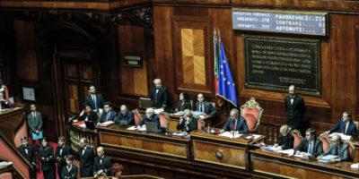 Il Senato ha approvato il Rosatellum