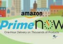 Le consegne di Amazon Prime Now ora costano di più