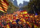 Le foto della manifestazione filo-spagnola a Barcellona