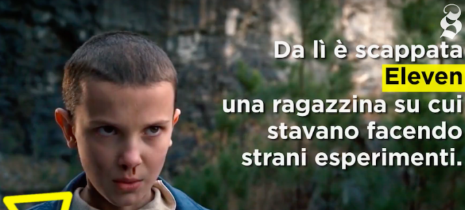 Un video-ripasso di Stranger Things, in tre minuti