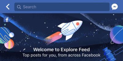 La nuova funzione Esplora di Facebook preoccupa gli editori
