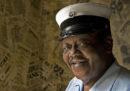 È morto il cantante e musicista Fats Domino