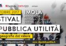 A Imola c'è il Festival di Pubblica Utilità