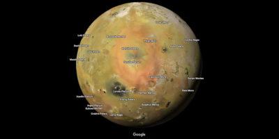 Su Google Maps sono arrivati nuovi pianeti e lune oltre alla Terra