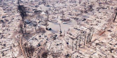 Com'è Santa Rosa, in California, dopo gli incendi
