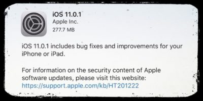 Se avete problemi con iOS 11, non siete gli unici