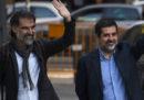 """L'arresto dei """"due Jordi"""" in Catalogna"""