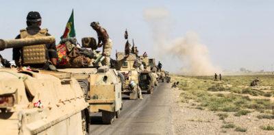 Migliaia di soldati curdi sono stati schierati a Kirkuk per paura di un attacco dell'Iraq