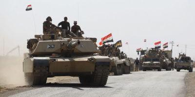 L'Iraq ha attaccato i curdi vicino a Kirkuk