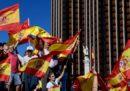 Le foto delle grandi manifestazioni di oggi a Madrid