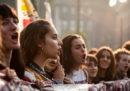 Le foto delle manifestazioni degli studenti in tutta Italia
