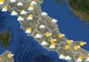 Le previsioni del tempo per martedì 10 ottobre