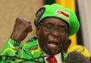 """L'OMS ha revocato a Robert Mugabe la nomina ad """"ambasciatore di buona volontà"""""""