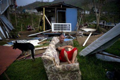 Cosa resta delle case dei portoricani