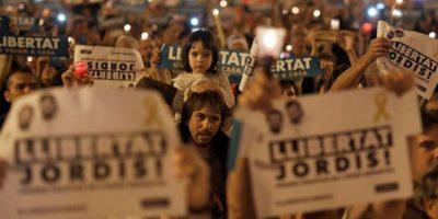 Le foto delle manifestazioni a Barcellona