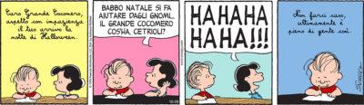 Peanuts 2017 ottobre 26