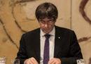 Il presidente catalano Carles Puigdemont non andrà a parlare al Senato spagnolo, infine