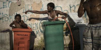 La vita in un palazzo occupato a Rio de Janeiro